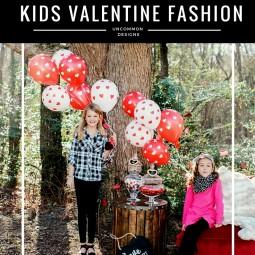 Valentine Fashion for Kids