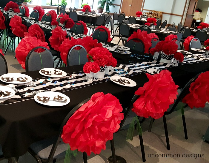 Cheer Banquet Centerpieces : Cheer banquet ideas uncommon designs