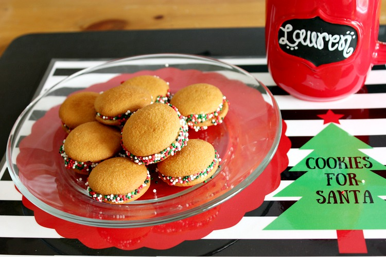 Get the kids in on the fun of creating a easy holiday cookies for Santa. Paired with delicious hot chocolate and this adorable downloadable placemat you are ready for Santa in an instant! See more on http://www.uncommondesignsonline.com/ #ChristmasCookies #Christmas #NewforSanta #ad