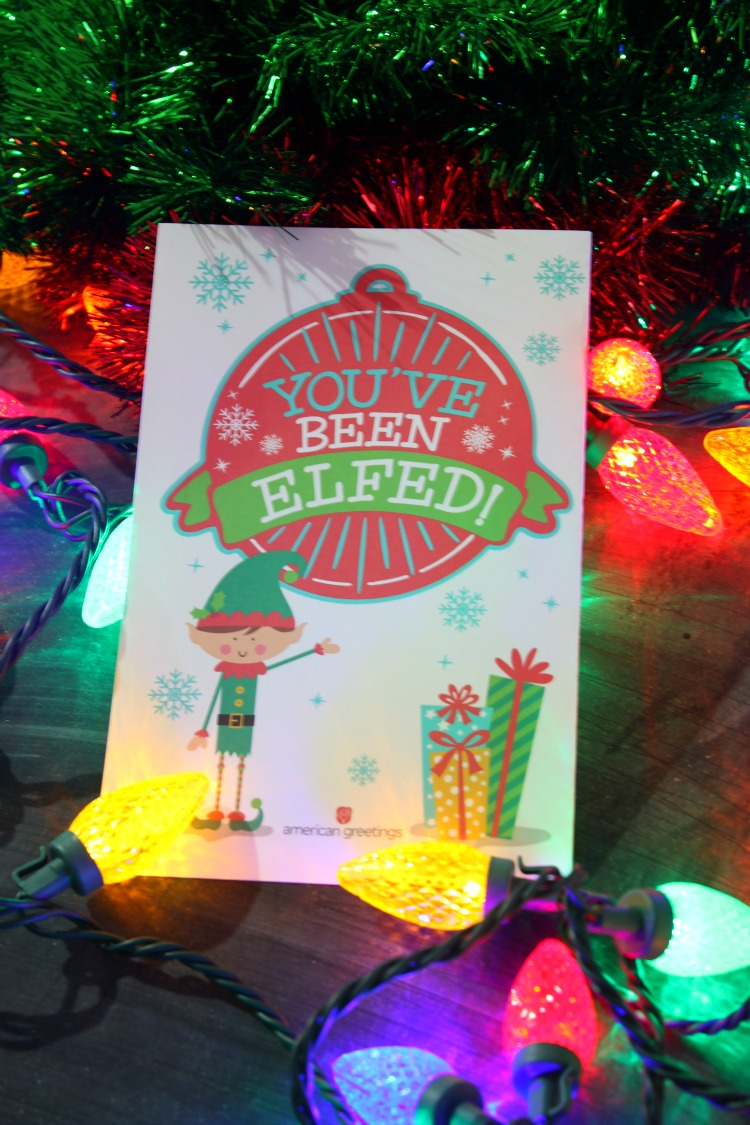 Enjoy this fun new tradition at work or in your  neighborhood. Elfing your Neighbor is so much fun to do and we are sharing inspiring ideas and Free Printables! Find more at http://www.uncommondesignsonline.com #Christmas #HolidayTraditions #FamilyFun