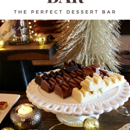How to Create An Elegant Chocolate Bar for Entertaining, No Baking Required! http://www.uncommondesignsonline.com/ #Chocoalte #Entertaining #DessertBar