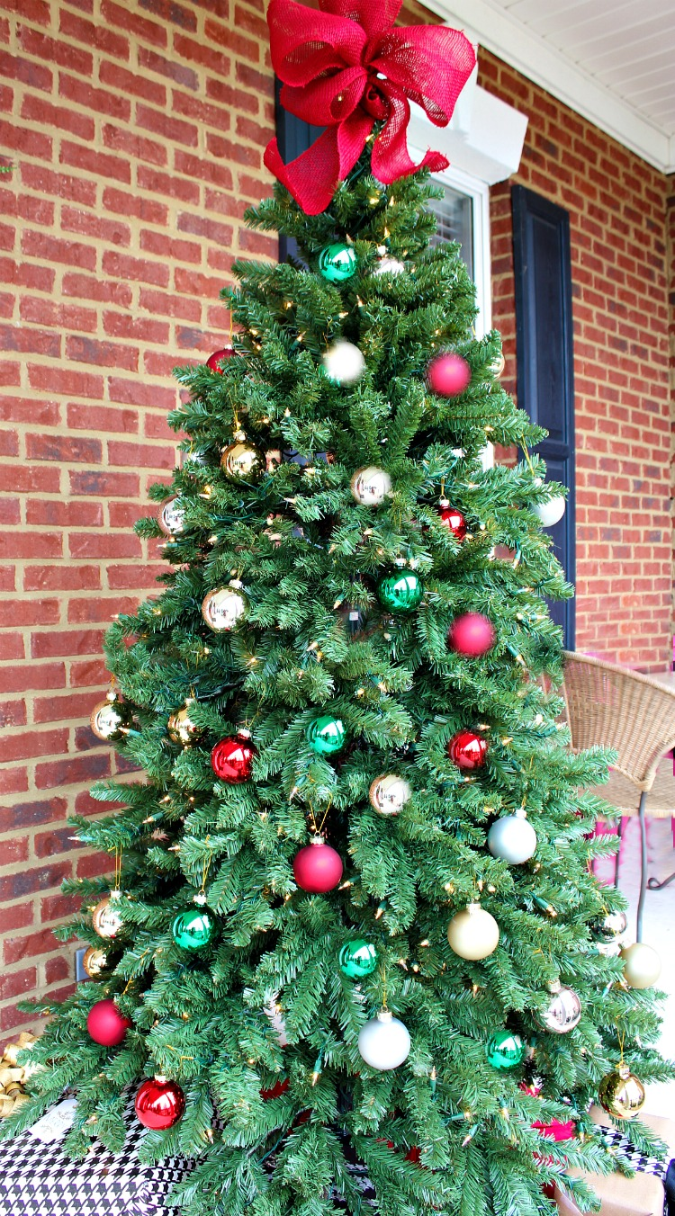 How To Decorate A Christmas Porch Uncommon Designs