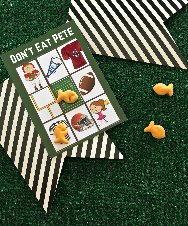 Don 39 t eat pete big game edition uncommon designs for Gold fish card game