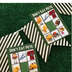 Don't Eat Pete: Big Game Edition and Free Printable Game Cards