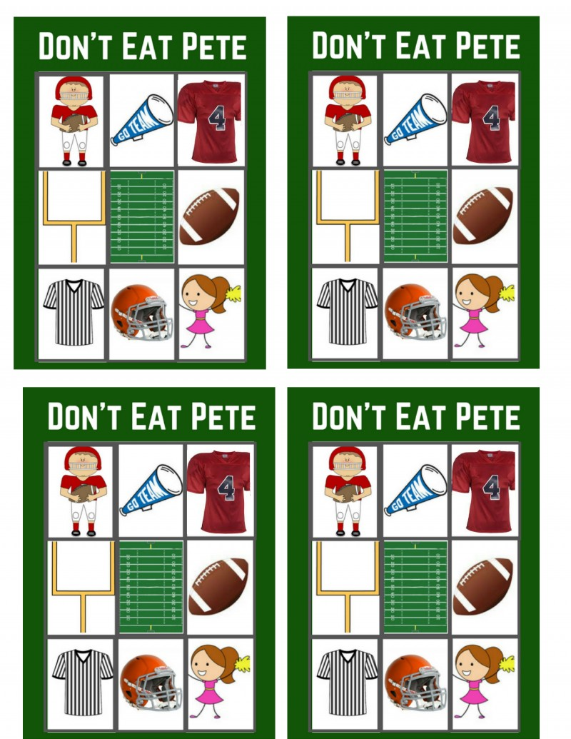 Don't Eat Pete Cards Big Game Edition (3)