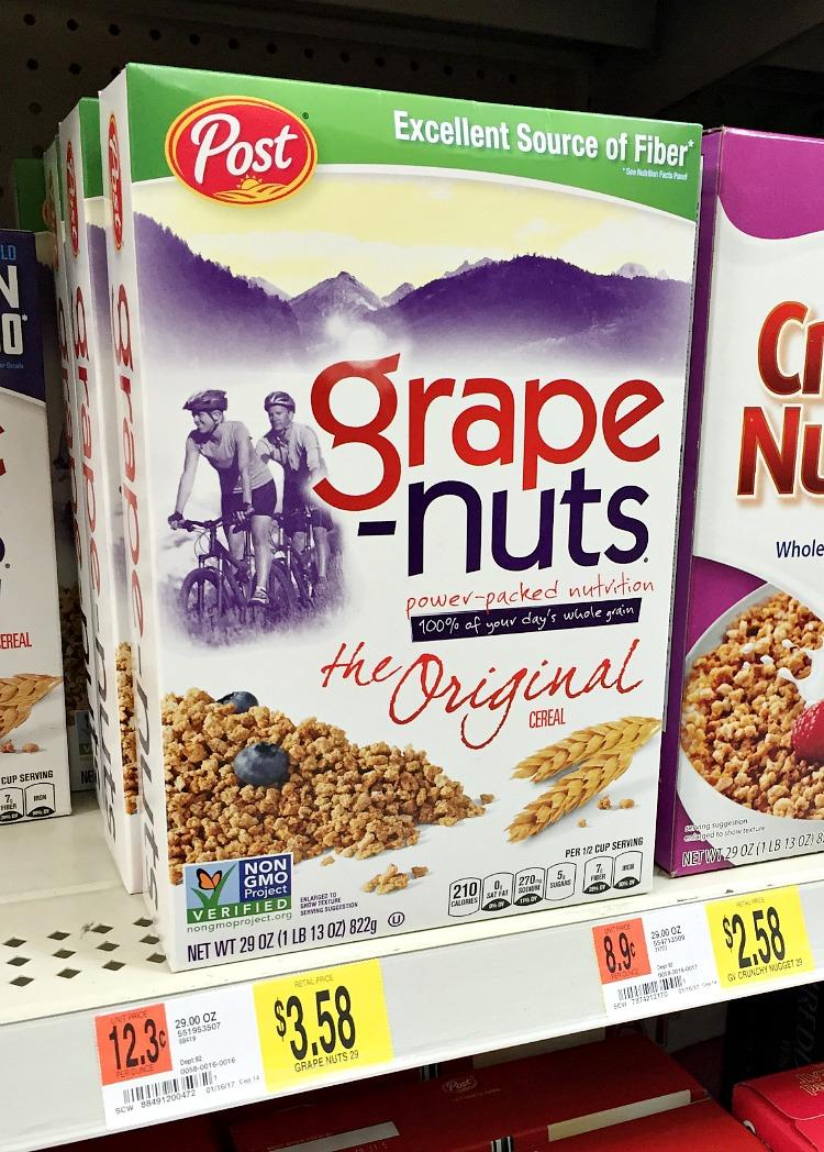 Grape Nuts at Wal-Mart