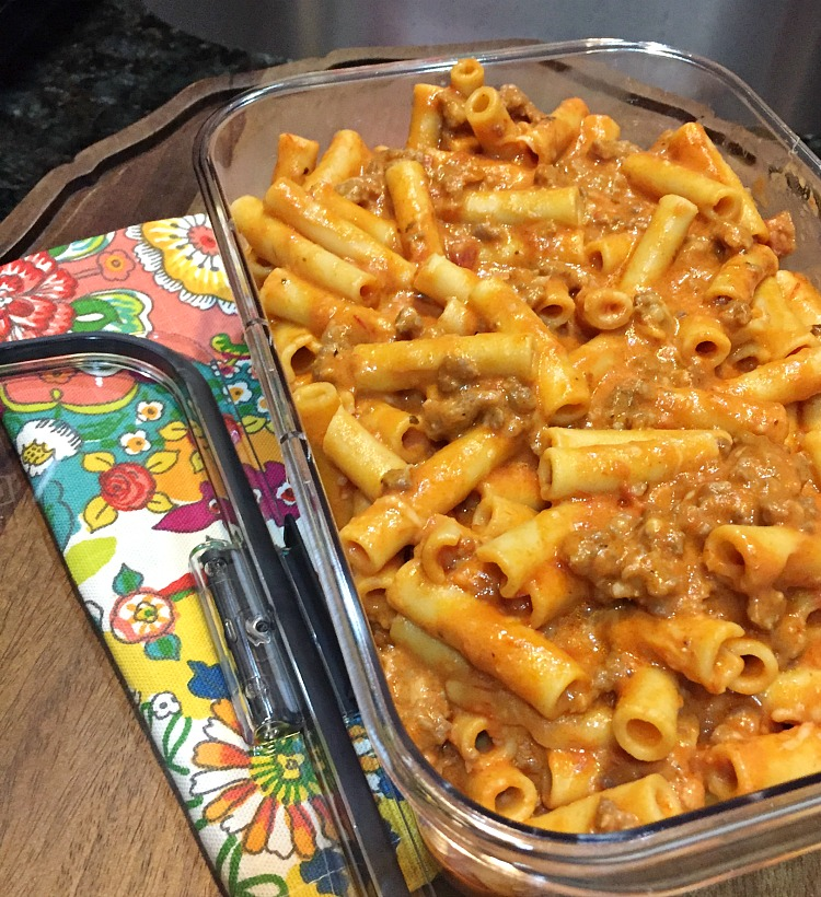 Meal Prep Tips and a Delicious recipe for Baked Ziti by Uncommon Designs
