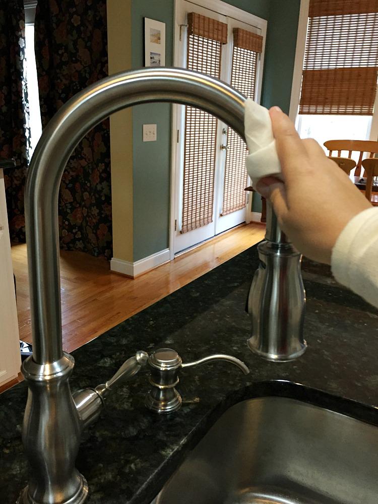 Kitchen Spring Cleaning Plumbing Fixtures