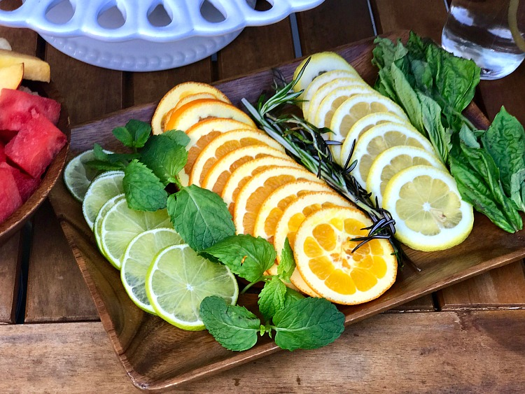 Citrus and Herbs