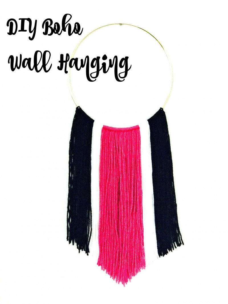 Make this beautiful DIY Boho Yarn Wall Hanging with this simple tutorial. You can even purchase the DIY kit and have all the supplies you need delivered right to your front door with free shipping!
