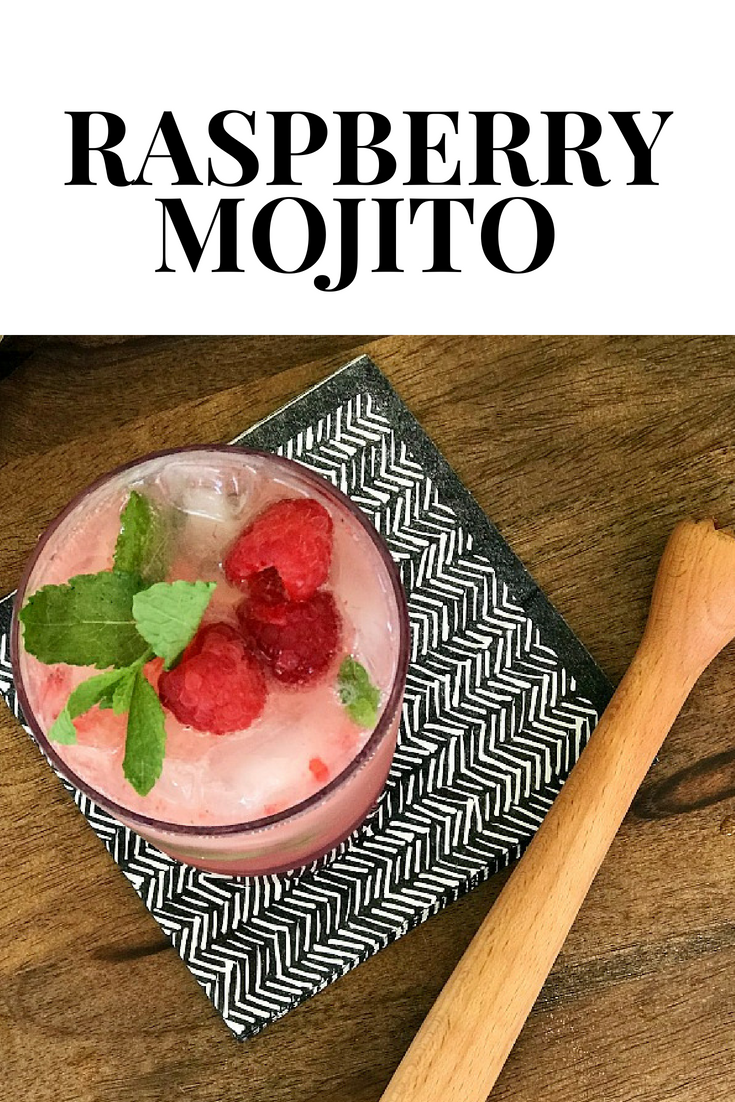 Whip up this delicious raspberry mojito cocktail. You won't believe how delicious it is!