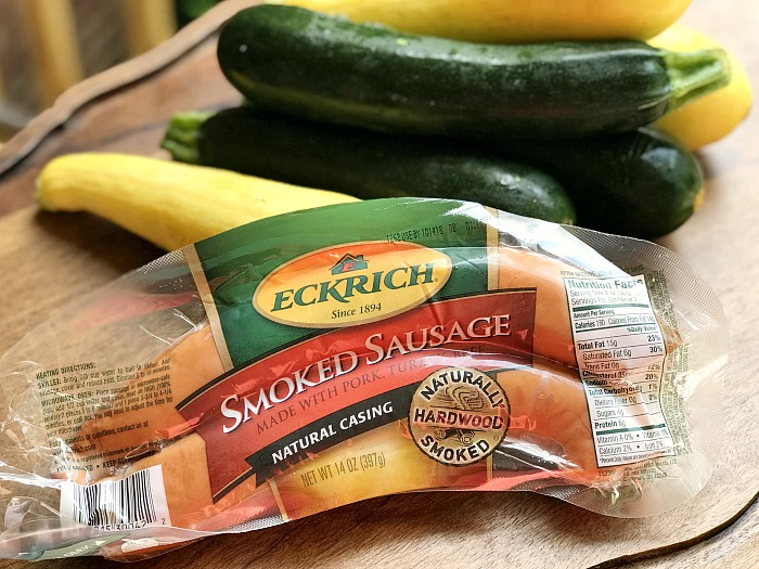 Make a meal with Eckrich Smoked Sausage and pretty much anything you have in the pantry! AD http://bit.ly/2OmFLLl #EckrichAndWhateversHandy @EckrichMeats