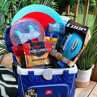 Summer Fun Father's Day Gift Basket Idea