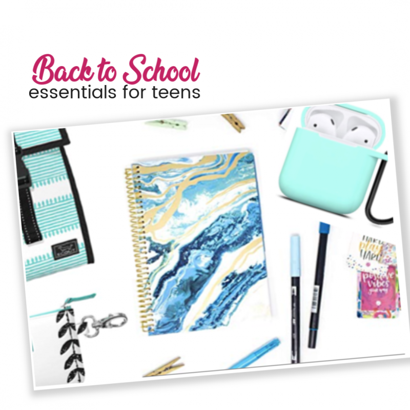 Back to School Essentials for Teens