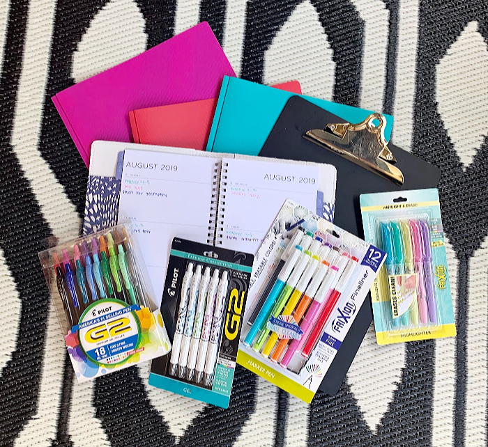 School Supplies for Visual Learners