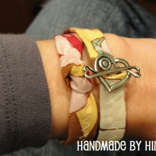 Fabric Wrap Bracelet