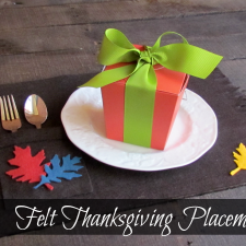 Simple Thanksgiving Placemats