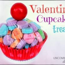 Valentine Cupcake Treat... a la Chasing Fireflies