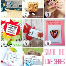 Valentines  Ideas  { Share the Love Series }