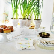 Easter Tablescapes... At the Picket Fence