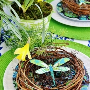 Easter Tablescape... Thistlewood Farms
