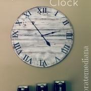 Pottery Barn Knock-Off Clock