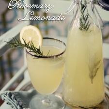A Summer Drink...Sparkling Rosemary Lemonade