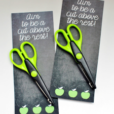 Back to School Printable... A Cut Above the Rest
