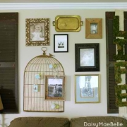 A Sweet Southern Family Room with Vintage Style