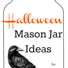 Halloween Mason Jar Ideas