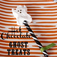 Hot Chocolate Ghost Treats and Family Traditions