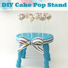 DIY Cake Pop Stand