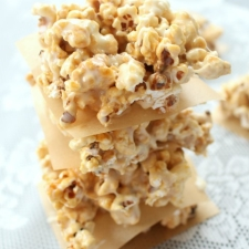 Caramel Popcorn Marshmallow Treat