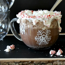 Semi Homemade Peppermint Hot Chocolate
