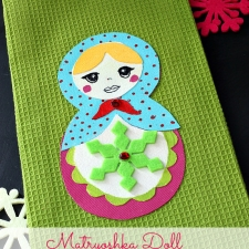 Adorable Christmas Kitchen Towel