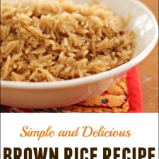 Easy Brown Rice Recipe