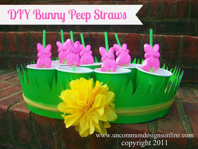 DIY-Bunny-Peep-Straws