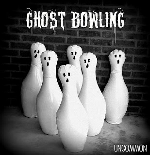 DIY Ghost Bowling Game