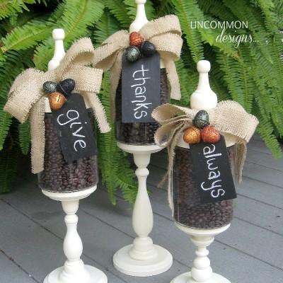 Fall Apothecary Jars