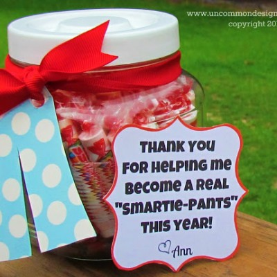Easy Teacher Appreciation Gift Idea