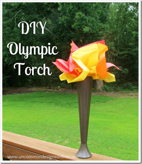 Olympic Torch via www.uncommondesignsonline.com