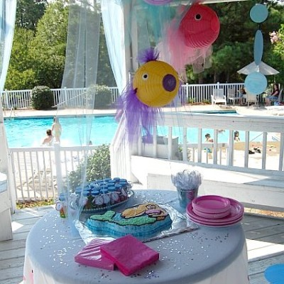 A Simple Mermaid Party