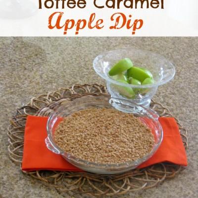 Toffee Caramel Apple Dip Recipe