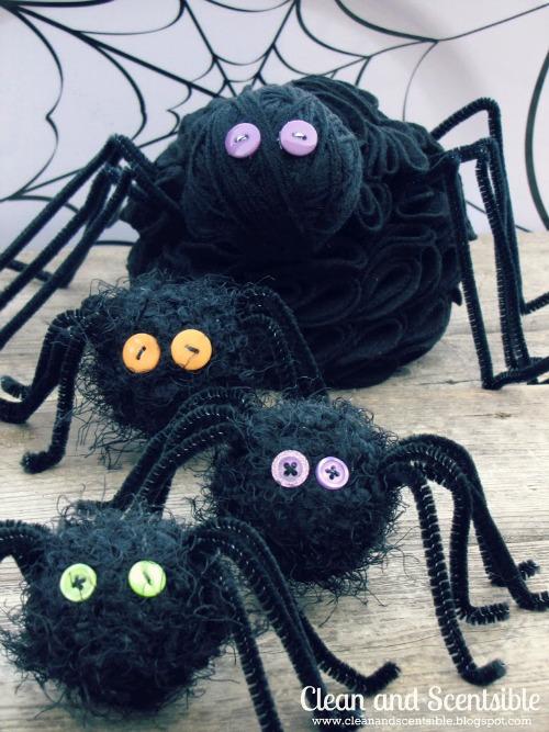 Felt-Spiders-Halloween