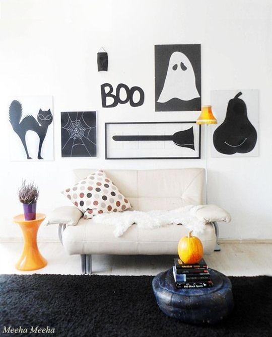 Halloween gallery wall 111