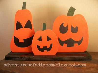 Reversible Bead Board Pumpkins