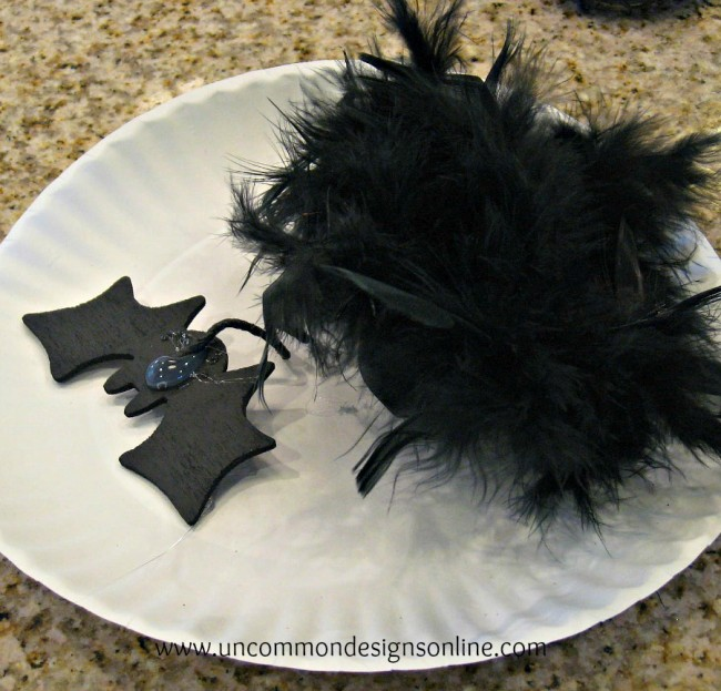 flying bats napkin rings