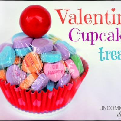 Valentine Cupcake Treat… a la Chasing Fireflies