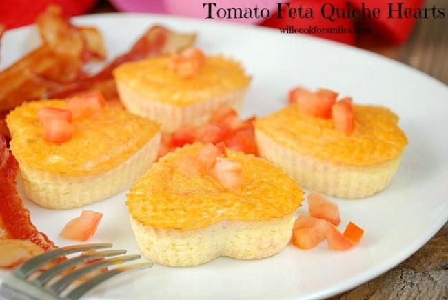 Tomato Feta Quiche