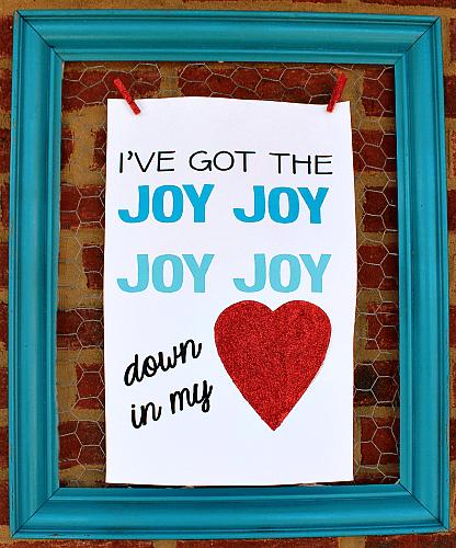 joy printable